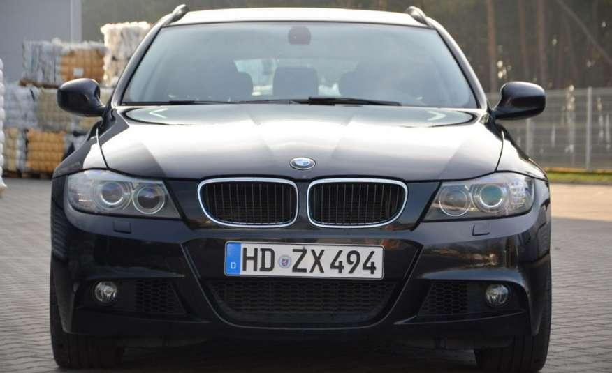 BMW 320 Czarny M-Pakiet Zarejestrowany 2.0D 163KM Lift Navi Alu Gwarancja zdjęcie 9