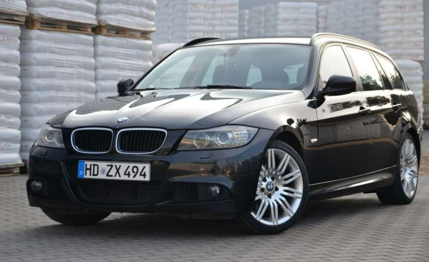 BMW 320 Czarny M-Pakiet Zarejestrowany 2.0D 163KM Lift Navi Alu Gwarancja zdjęcie 10