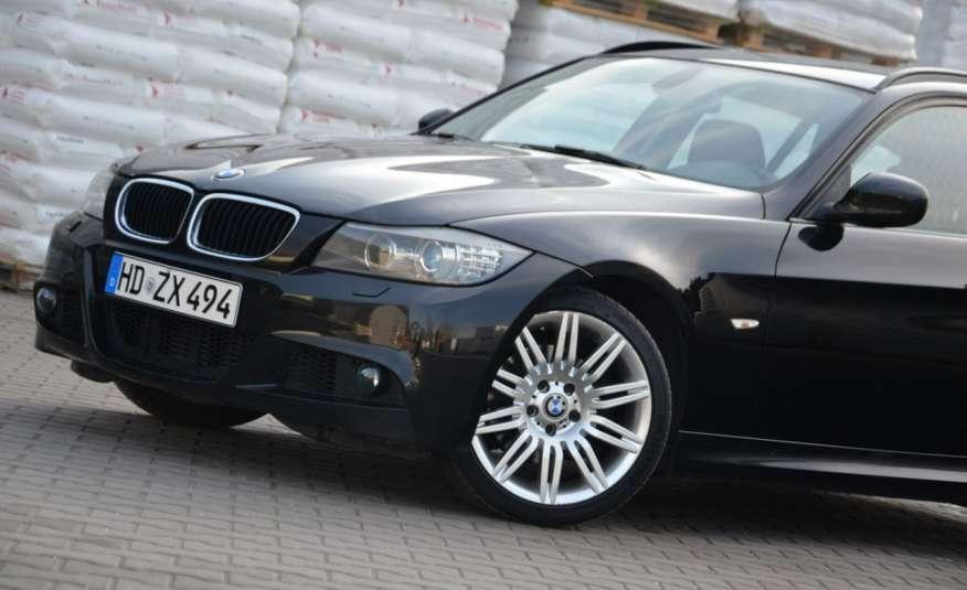 BMW 320 Czarny M-Pakiet Zarejestrowany 2.0D 163KM Lift Navi Alu Gwarancja zdjęcie 11