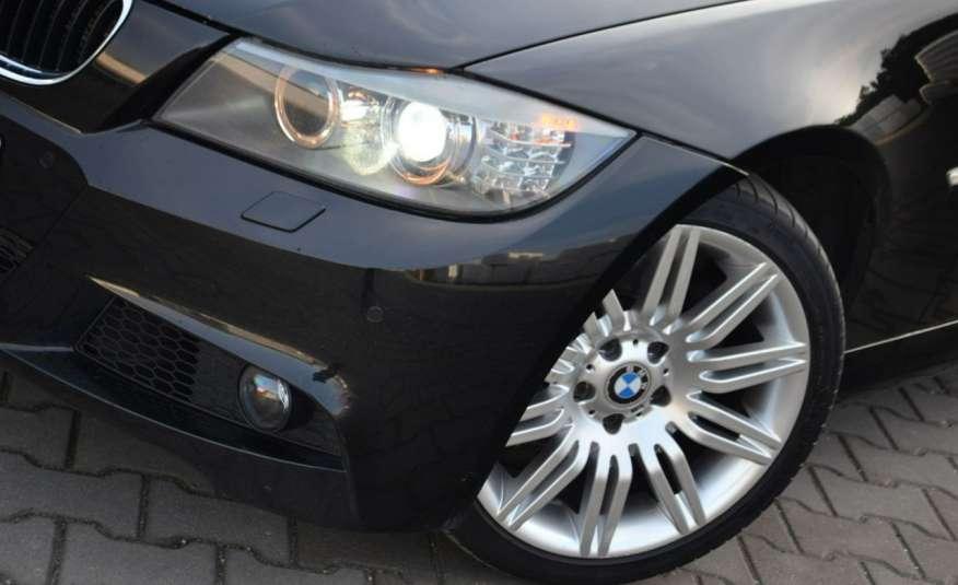 BMW 320 Czarny M-Pakiet Zarejestrowany 2.0D 163KM Lift Navi Alu Gwarancja zdjęcie 12