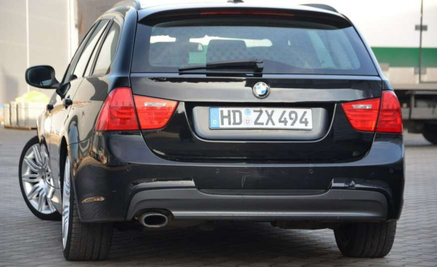 BMW 320 Czarny M-Pakiet Zarejestrowany 2.0D 163KM Lift Navi Alu Gwarancja zdjęcie 14