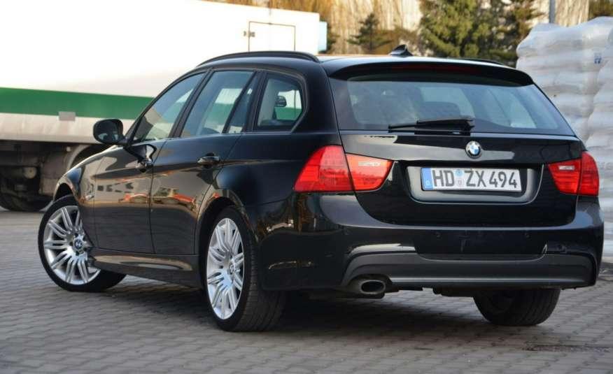 BMW 320 Czarny M-Pakiet Zarejestrowany 2.0D 163KM Lift Navi Alu Gwarancja zdjęcie 15