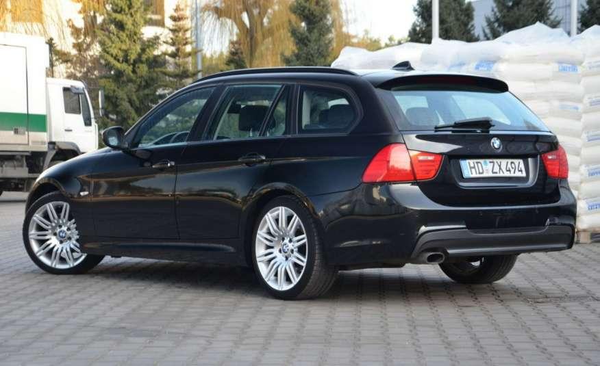 BMW 320 Czarny M-Pakiet Zarejestrowany 2.0D 163KM Lift Navi Alu Gwarancja zdjęcie 16