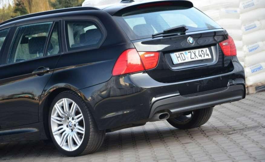 BMW 320 Czarny M-Pakiet Zarejestrowany 2.0D 163KM Lift Navi Alu Gwarancja zdjęcie 17