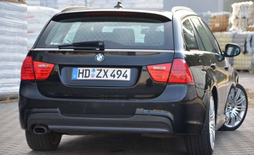 BMW 320 Czarny M-Pakiet Zarejestrowany 2.0D 163KM Lift Navi Alu Gwarancja zdjęcie 18