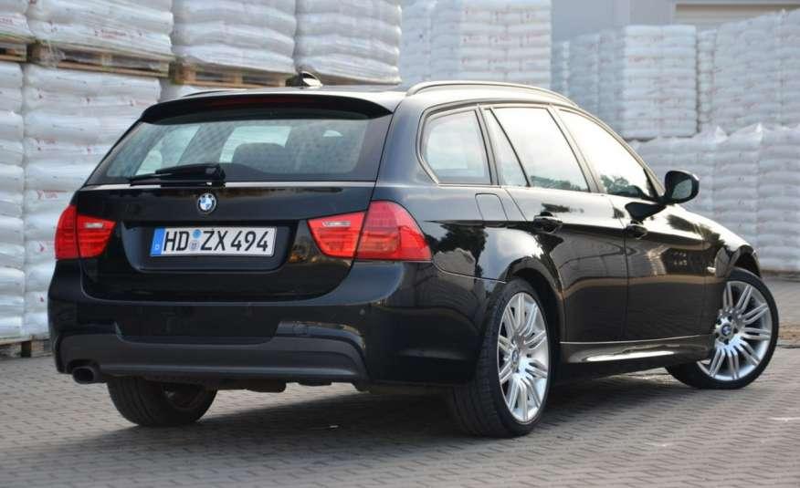 BMW 320 Czarny M-Pakiet Zarejestrowany 2.0D 163KM Lift Navi Alu Gwarancja zdjęcie 19
