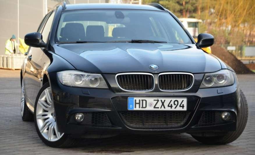 BMW 320 Czarny M-Pakiet Zarejestrowany 2.0D 163KM Lift Navi Alu Gwarancja zdjęcie 21