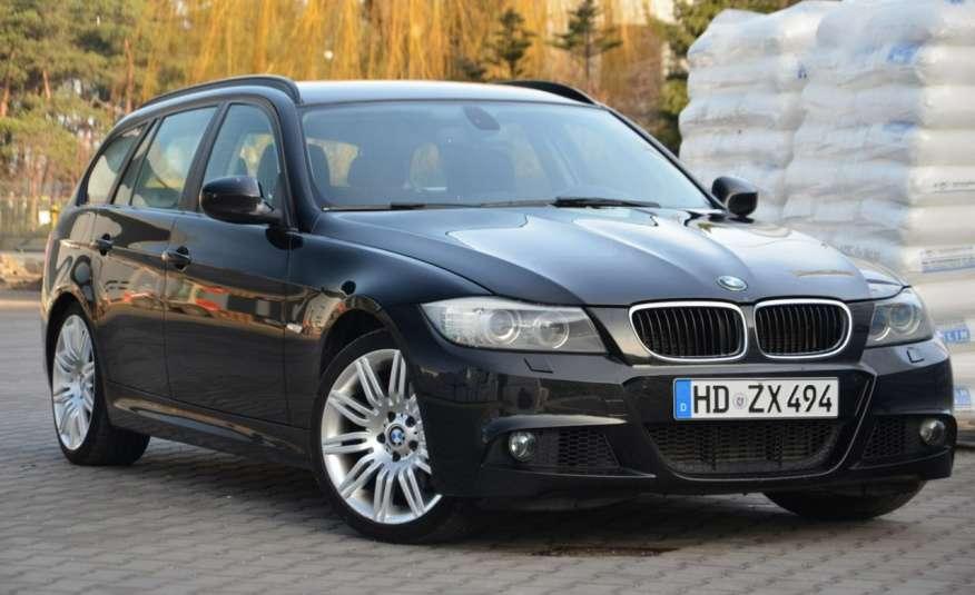 BMW 320 Czarny M-Pakiet Zarejestrowany 2.0D 163KM Lift Navi Alu Gwarancja zdjęcie 22