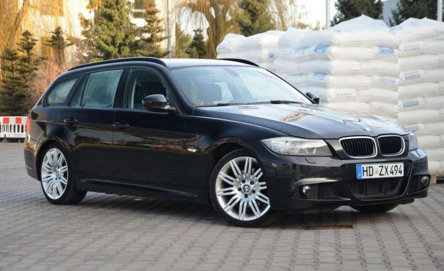 BMW 320 Czarny M-Pakiet Zarejestrowany 2.0D 163KM Lift Navi Alu Gwarancja zdjęcie 23