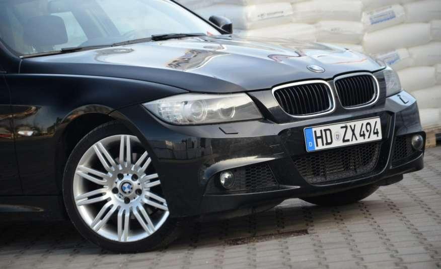 BMW 320 Czarny M-Pakiet Zarejestrowany 2.0D 163KM Lift Navi Alu Gwarancja zdjęcie 24