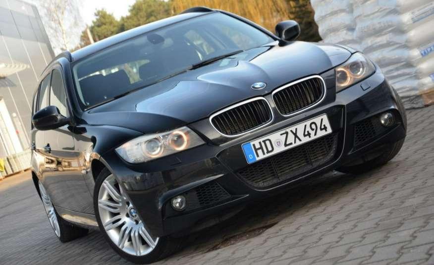 BMW 320 Czarny M-Pakiet Zarejestrowany 2.0D 163KM Lift Navi Alu Gwarancja zdjęcie 25