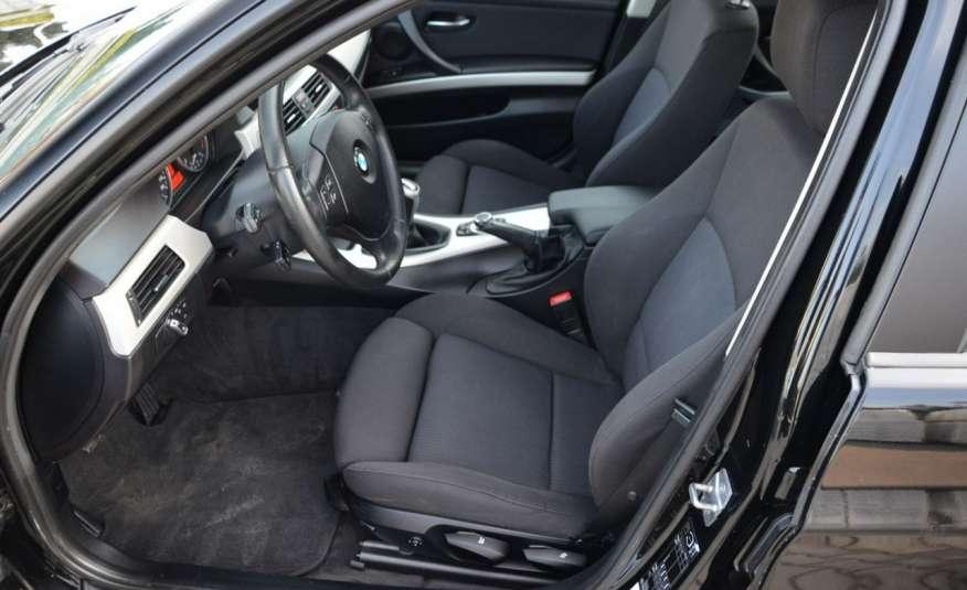 BMW 320 Czarny M-Pakiet Zarejestrowany 2.0D 163KM Lift Navi Alu Gwarancja zdjęcie 28