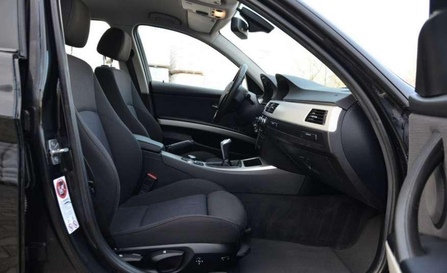 BMW 320 Czarny M-Pakiet Zarejestrowany 2.0D 163KM Lift Navi Alu Gwarancja zdjęcie 34