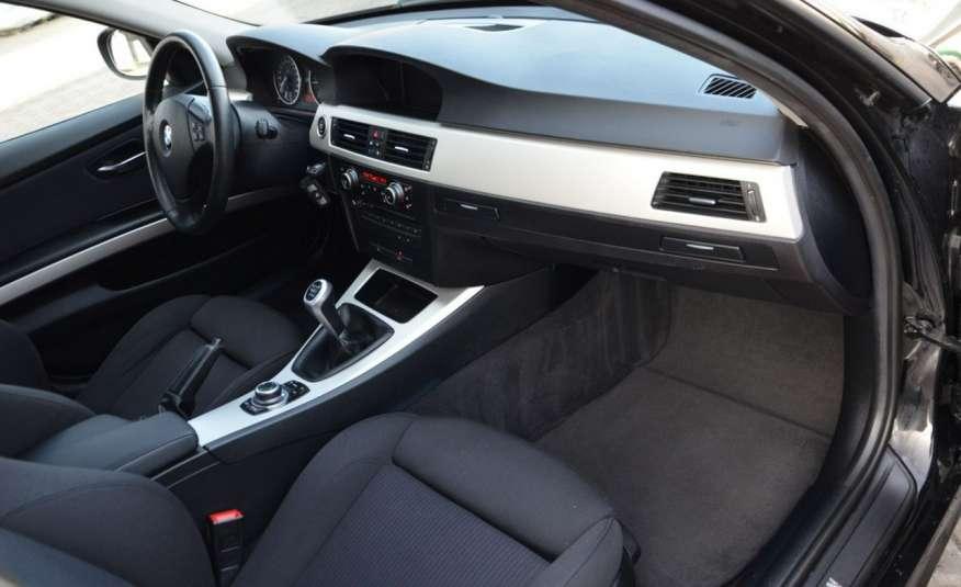 BMW 320 Czarny M-Pakiet Zarejestrowany 2.0D 163KM Lift Navi Alu Gwarancja zdjęcie 35