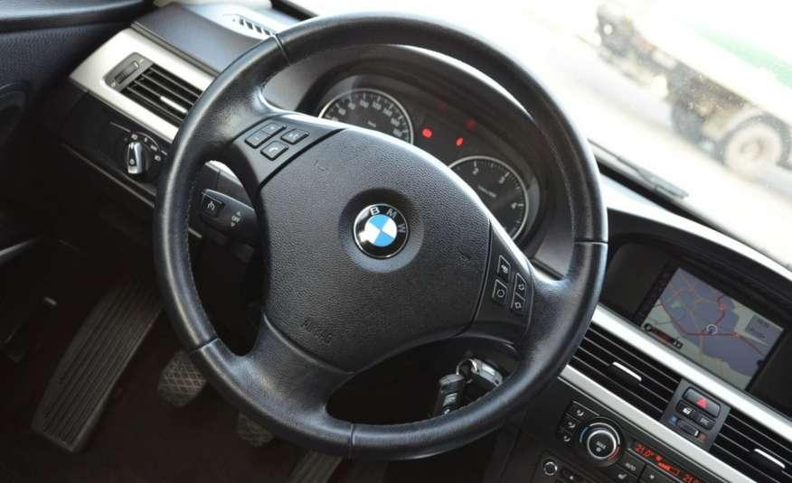 BMW 320 Czarny M-Pakiet Zarejestrowany 2.0D 163KM Lift Navi Alu Gwarancja zdjęcie 38