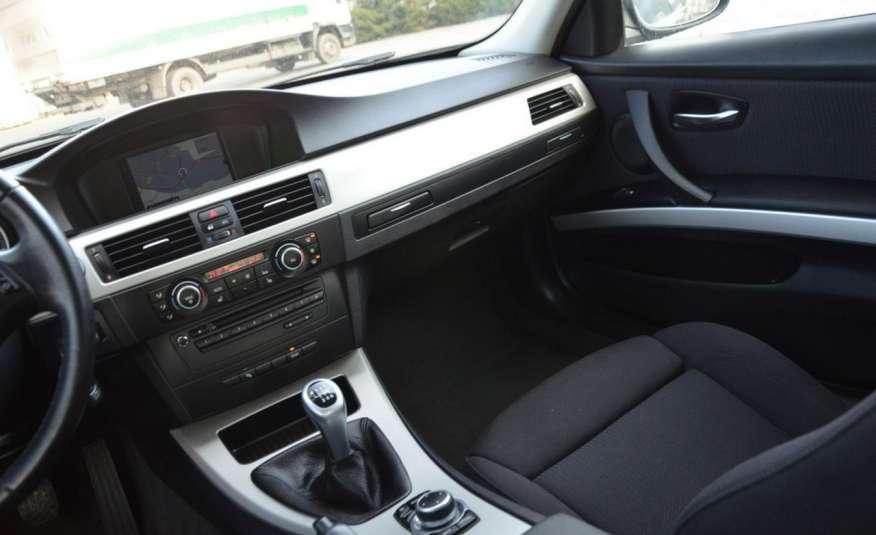 BMW 320 Czarny M-Pakiet Zarejestrowany 2.0D 163KM Lift Navi Alu Gwarancja zdjęcie 39
