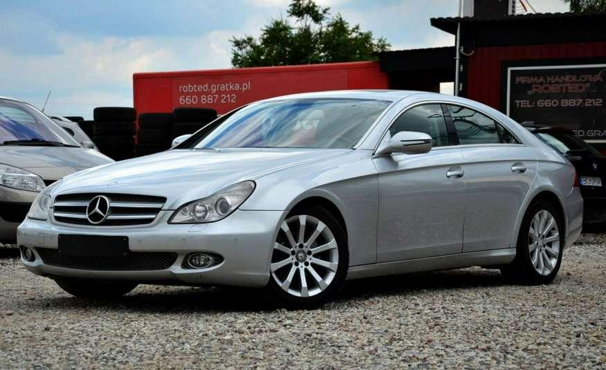 Mercedes CLS 320 Opłacony 320CDI Lift Wentyle Skóra Navi Bi-xenon Alu Gwarancja zdjęcie 6