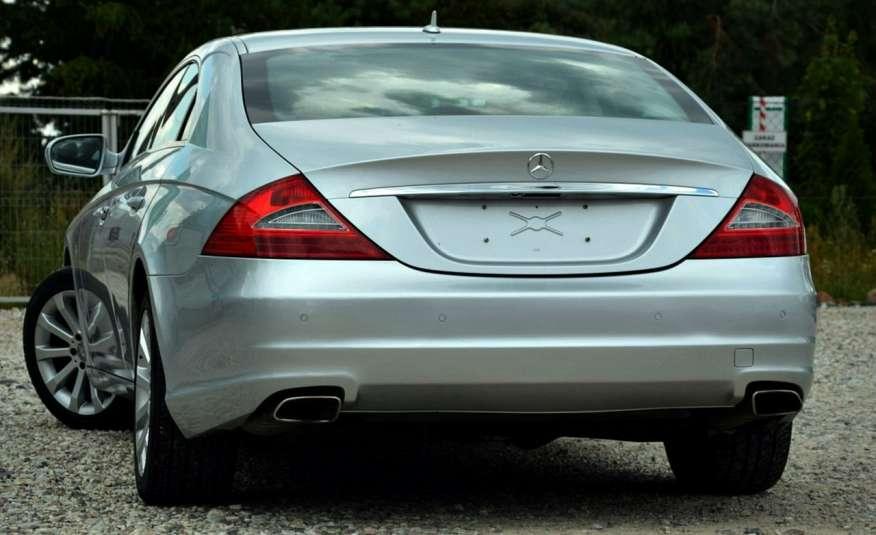 Mercedes CLS 320 Opłacony 320CDI Lift Wentyle Skóra Navi Bi-xenon Alu Gwarancja zdjęcie 7