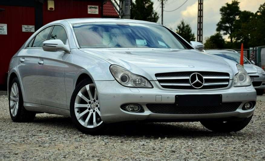Mercedes CLS 320 Opłacony 320CDI Lift Wentyle Skóra Navi Bi-xenon Alu Gwarancja zdjęcie 12
