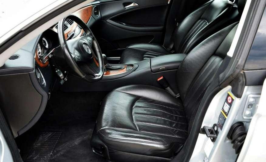 Mercedes CLS 320 Opłacony 320CDI Lift Wentyle Skóra Navi Bi-xenon Alu Gwarancja zdjęcie 21