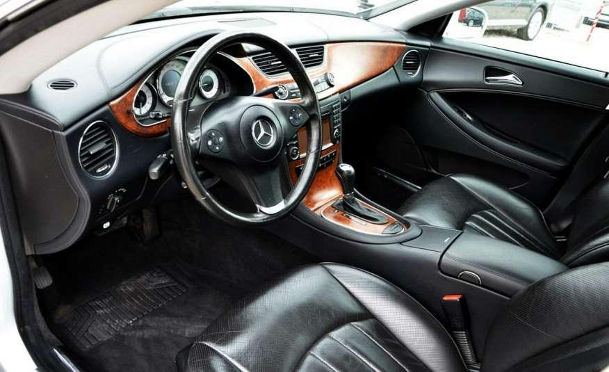 Mercedes CLS 320 Opłacony 320CDI Lift Wentyle Skóra Navi Bi-xenon Alu Gwarancja zdjęcie 22
