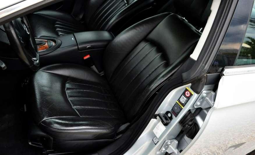 Mercedes CLS 320 Opłacony 320CDI Lift Wentyle Skóra Navi Bi-xenon Alu Gwarancja zdjęcie 26