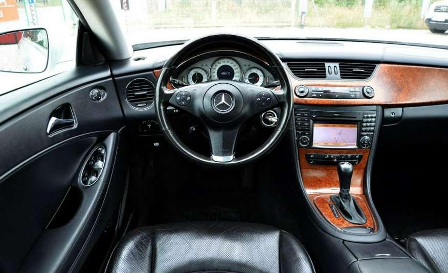 Mercedes CLS 320 Opłacony 320CDI Lift Wentyle Skóra Navi Bi-xenon Alu Gwarancja zdjęcie 33