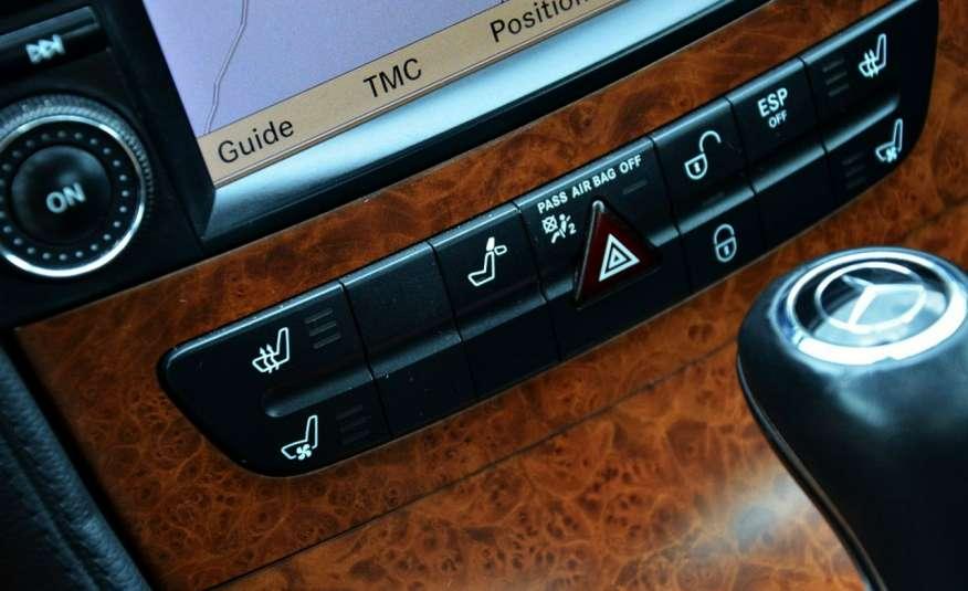 Mercedes CLS 320 Opłacony 320CDI Lift Wentyle Skóra Navi Bi-xenon Alu Gwarancja zdjęcie 38