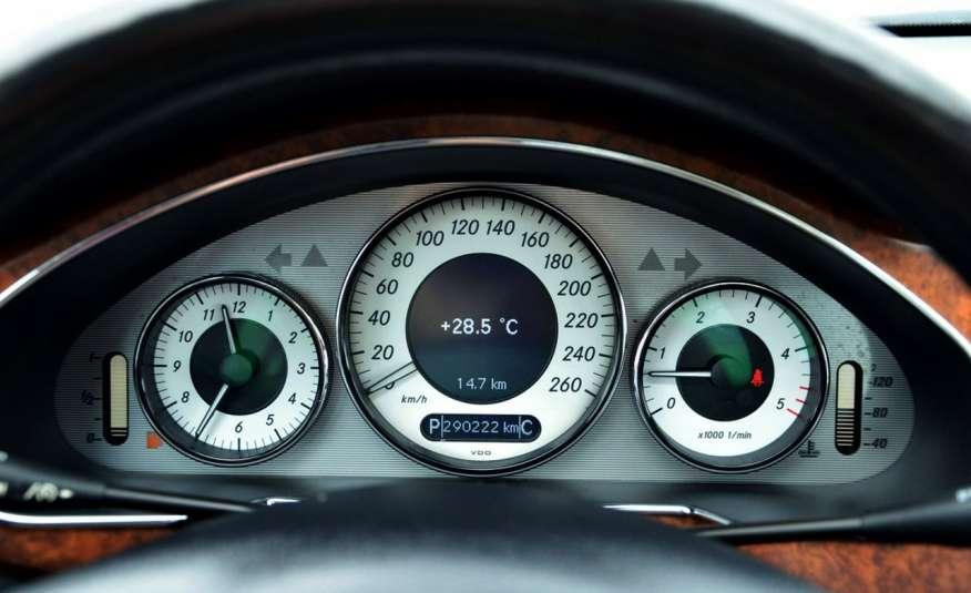 Mercedes CLS 320 Opłacony 320CDI Lift Wentyle Skóra Navi Bi-xenon Alu Gwarancja zdjęcie 40
