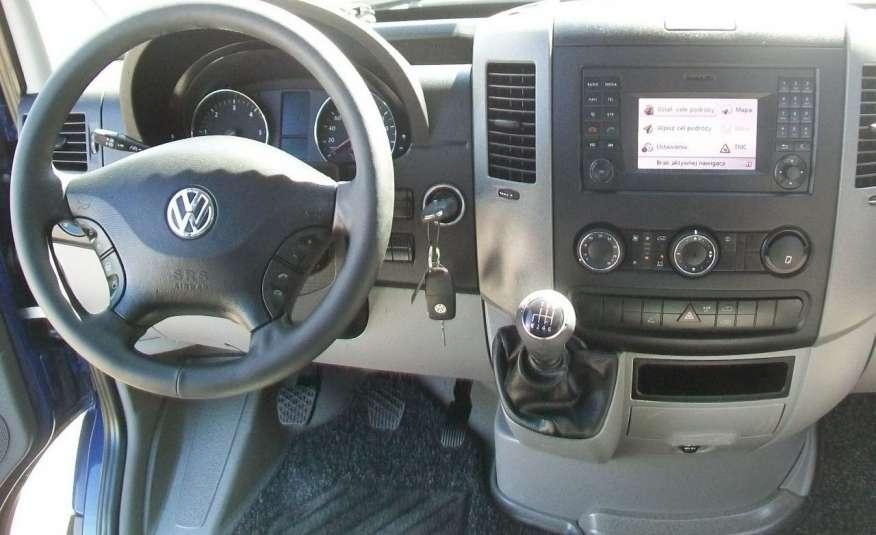 Volkswagen Crafter 2.0BITDI 164KM A/C 7 OS BLIŹNIAKI NA KAT B NAVIGACJA NR 58 zdjęcie 9