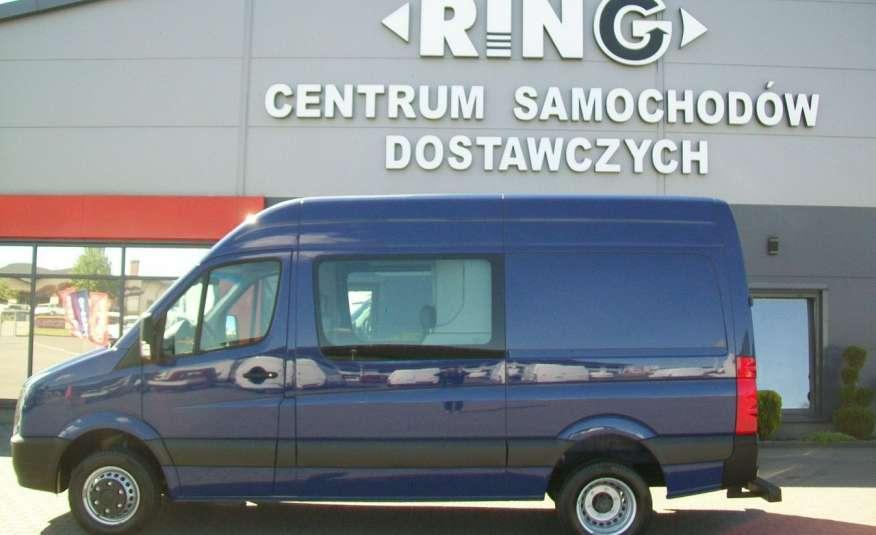 Volkswagen Crafter 2.0BITDI 164KM A/C 7 OS BLIŹNIAKI NA KAT B NAVIGACJA NR 58 zdjęcie 26