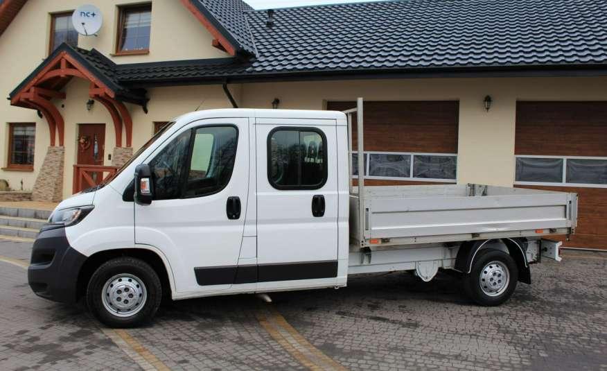 Peugeot Boxer 2.2 HDi 130KM / Doka Brygadówka / 7 osób / Salon PL I-właściciel zdjęcie