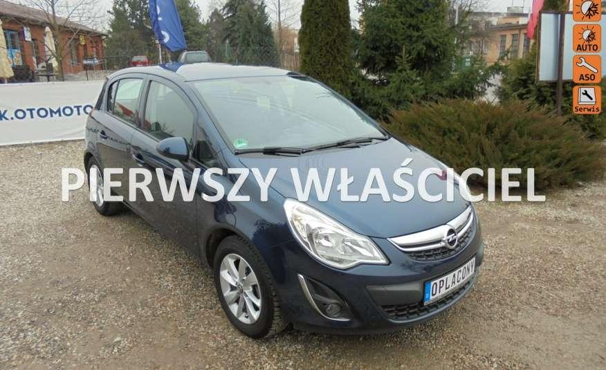 Opel Corsa Piękny kolor, silnik 1.2 benzyna, pełen serwis , niski przebieg zdjęcie 1