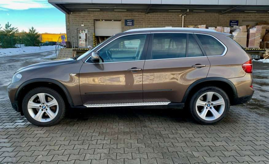 BMW X5 4.0D 306KM 7.os.panorama lasery bixenon kamer360 full opcja 1 rok gwar zdjęcie 4