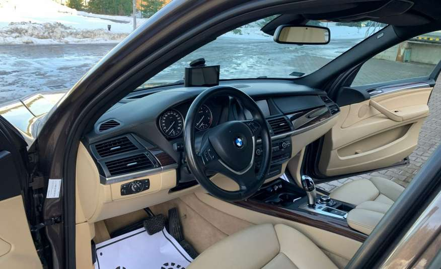 BMW X5 4.0D 306KM 7.os.panorama lasery bixenon kamer360 full opcja 1 rok gwar zdjęcie 16
