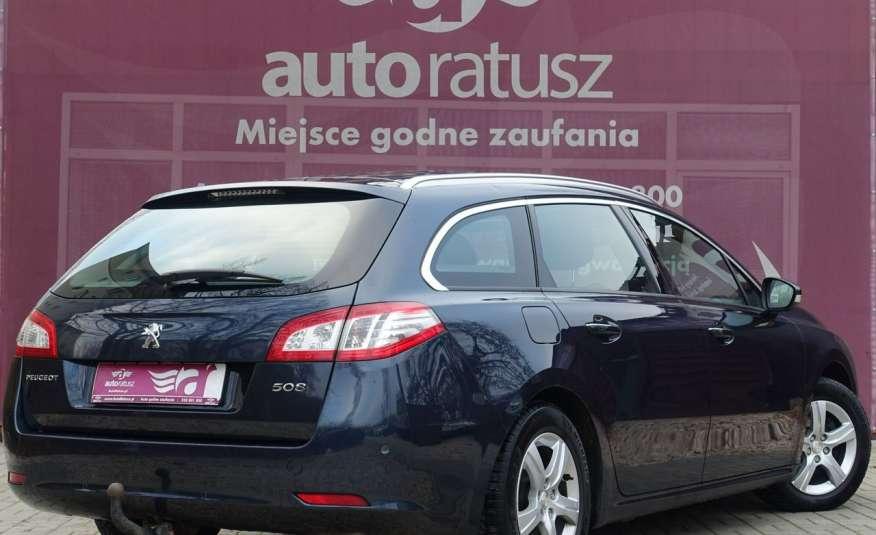 Peugeot 508 F-ra VAT 23% Automat 100% Org. Lakier Szklany Dach zdjęcie 3