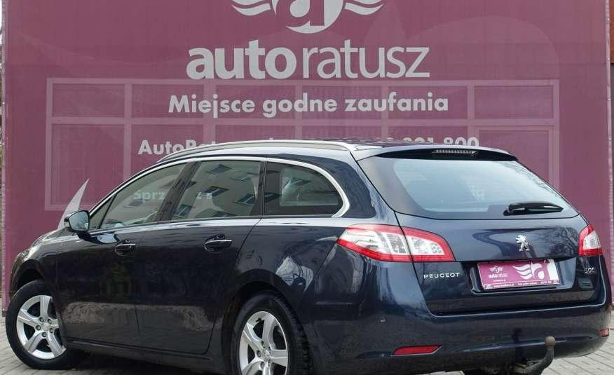 Peugeot 508 F-ra VAT 23% Automat 100% Org. Lakier Szklany Dach zdjęcie 4