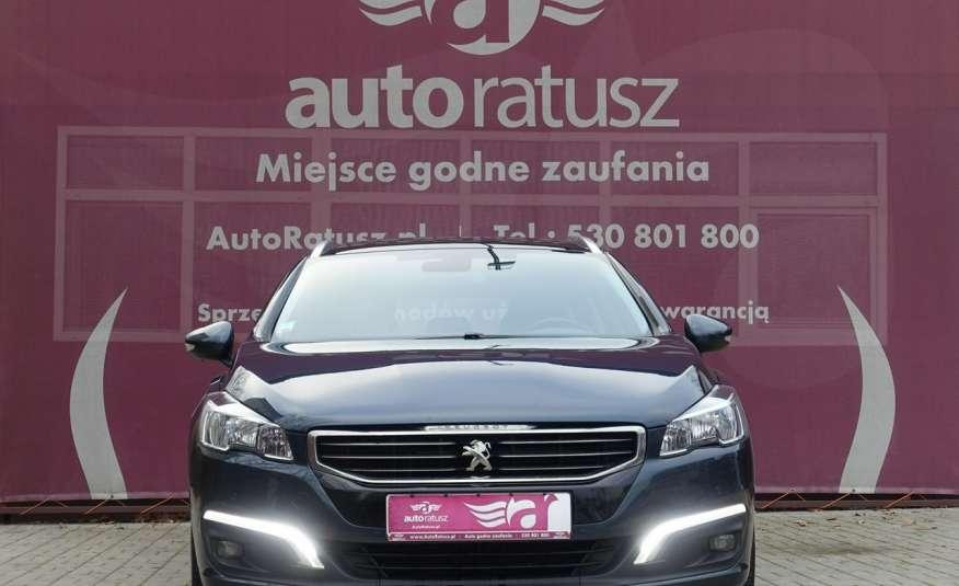 Peugeot 508 F-ra VAT 23% Automat 100% Org. Lakier Szklany Dach zdjęcie 28