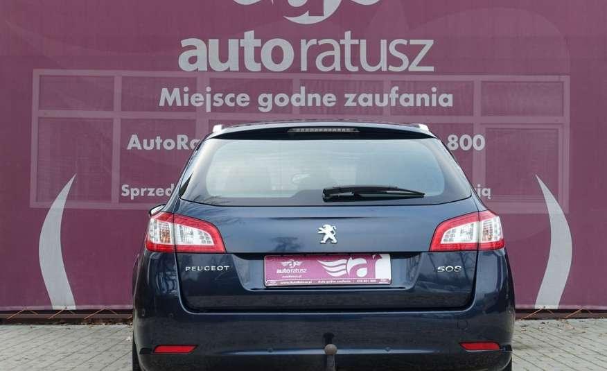 Peugeot 508 F-ra VAT 23% Automat 100% Org. Lakier Szklany Dach zdjęcie 29