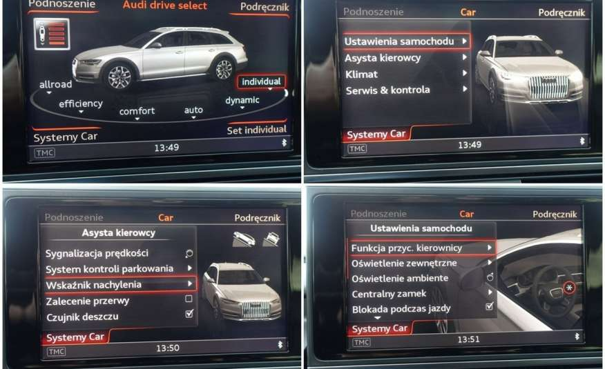 Audi A6 Allroad F-ra VAT 23% Allroad Quattro Panorama Bezwypadkowy zdjęcie 7