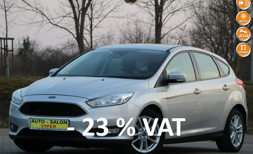 FORD Focus krajowy, 1-właściciel, , zarejestrowany FA VAT zdjęcie 1