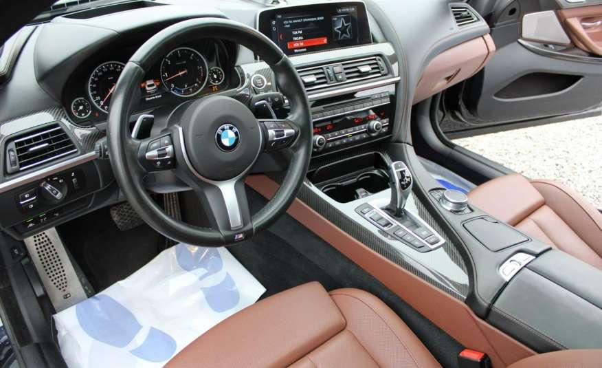 BMW 640 Salon, Skora, Idealny, Szyber, Faktura vat, 52tys kmGrand Coupe. zdjęcie 15