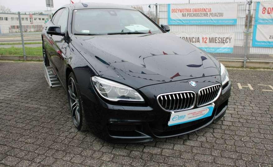 BMW 640 Salon, Skora, Idealny, Szyber, Faktura vat, 52tys kmGrand Coupe. zdjęcie 25