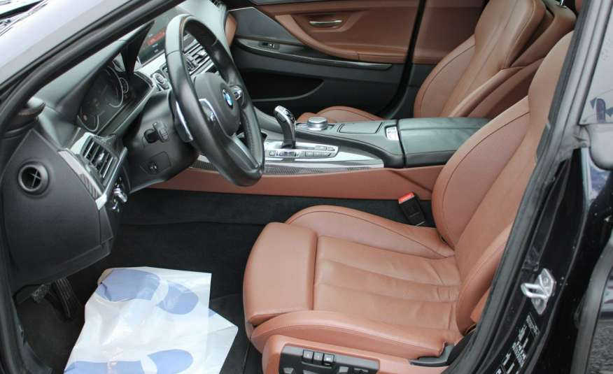 BMW 640 Salon, Skora, Idealny, Szyber, Faktura vat, 52tys kmGrand Coupe. zdjęcie 26