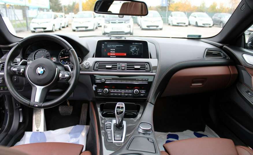 BMW 640 Salon, Skora, Idealny, Szyber, Faktura vat, 52tys kmGrand Coupe. zdjęcie 32