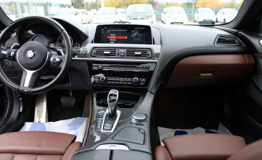 BMW 640 Salon, Skora, Idealny, Szyber, Faktura vat, 52tys kmGrand Coupe. zdjęcie 36