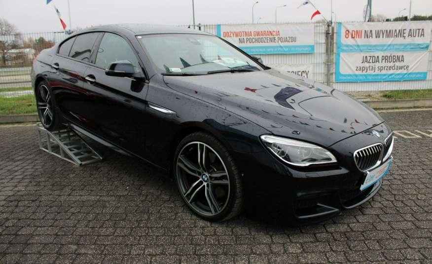 BMW 640 Salon, Skora, Idealny, Szyber, Faktura vat, 52tys kmGrand Coupe. zdjęcie 38