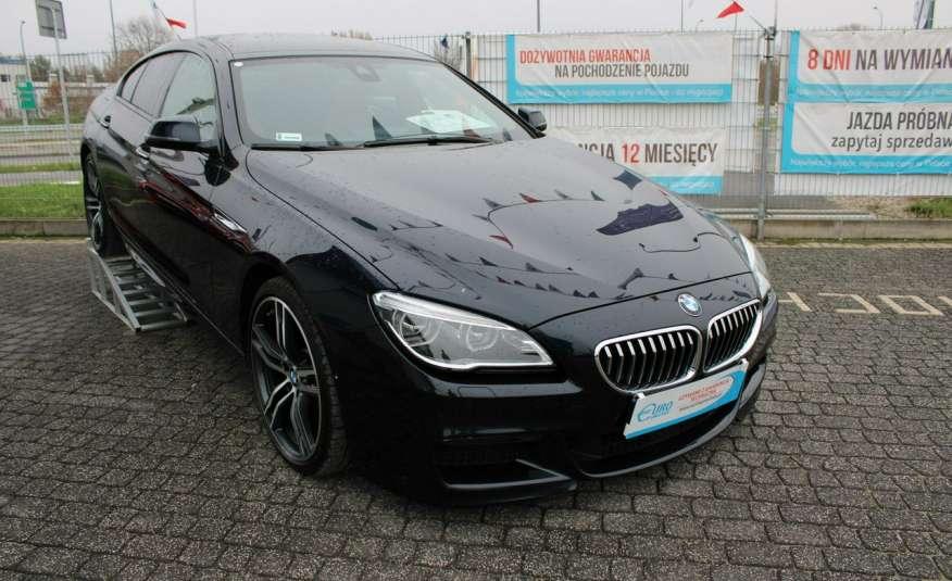BMW 640 Salon, Skora, Idealny, Szyber, Faktura vat, 52tys kmGrand Coupe. zdjęcie 45