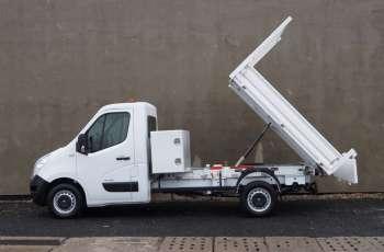 Renault Master Wywrotka Klima Tempomat Skrzynia narzędziowa