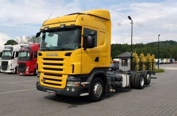 Scania R 380 3 Osie Retarder
